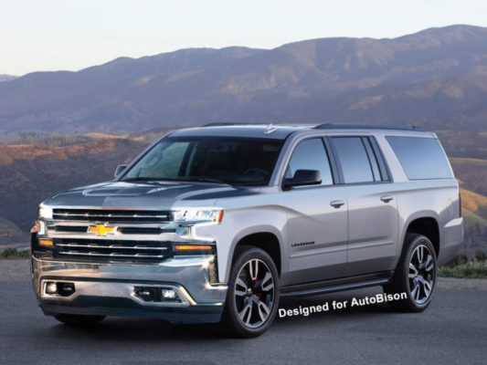 New Suburban to Dominate Full-Size SUVs in 2020 – AutoBison