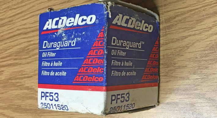 AC Delco (GM) parts